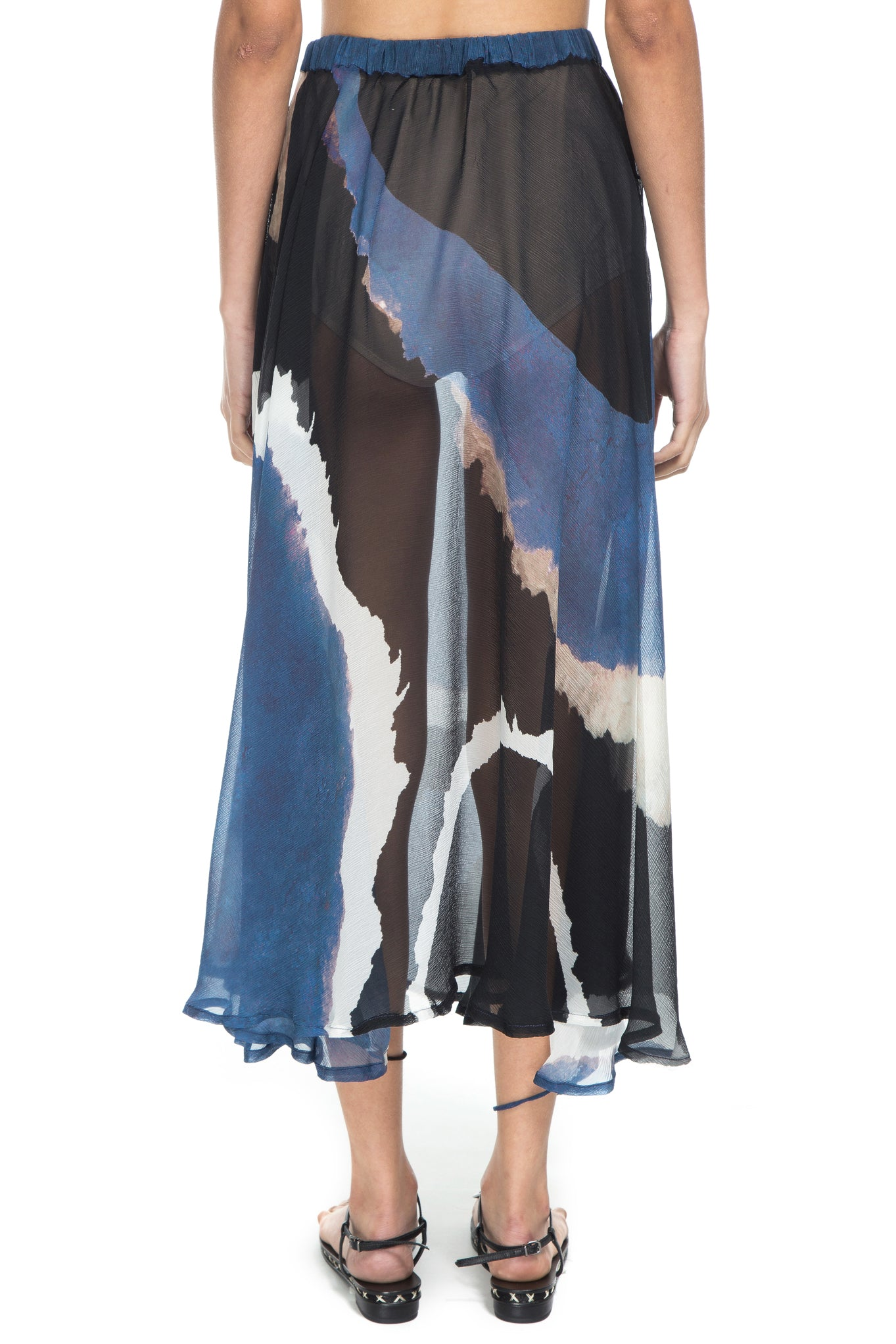BLUE WATER ALADIN SKIRT