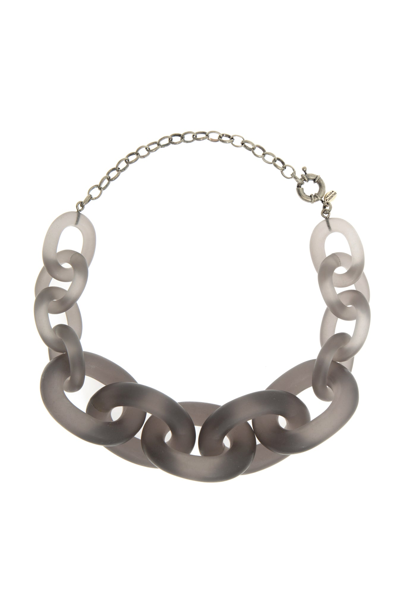 GREY CHAIN CHOCKER