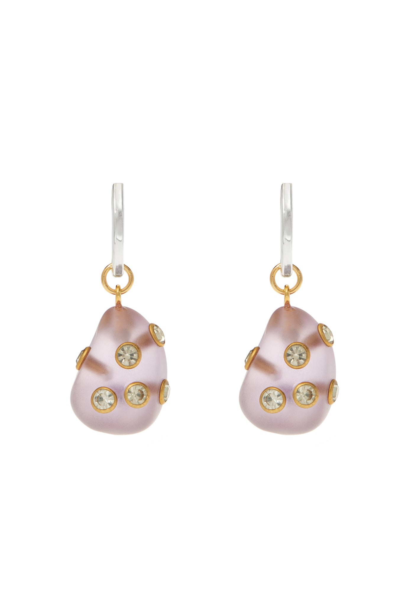 LILAC ARSTY EARRINGS