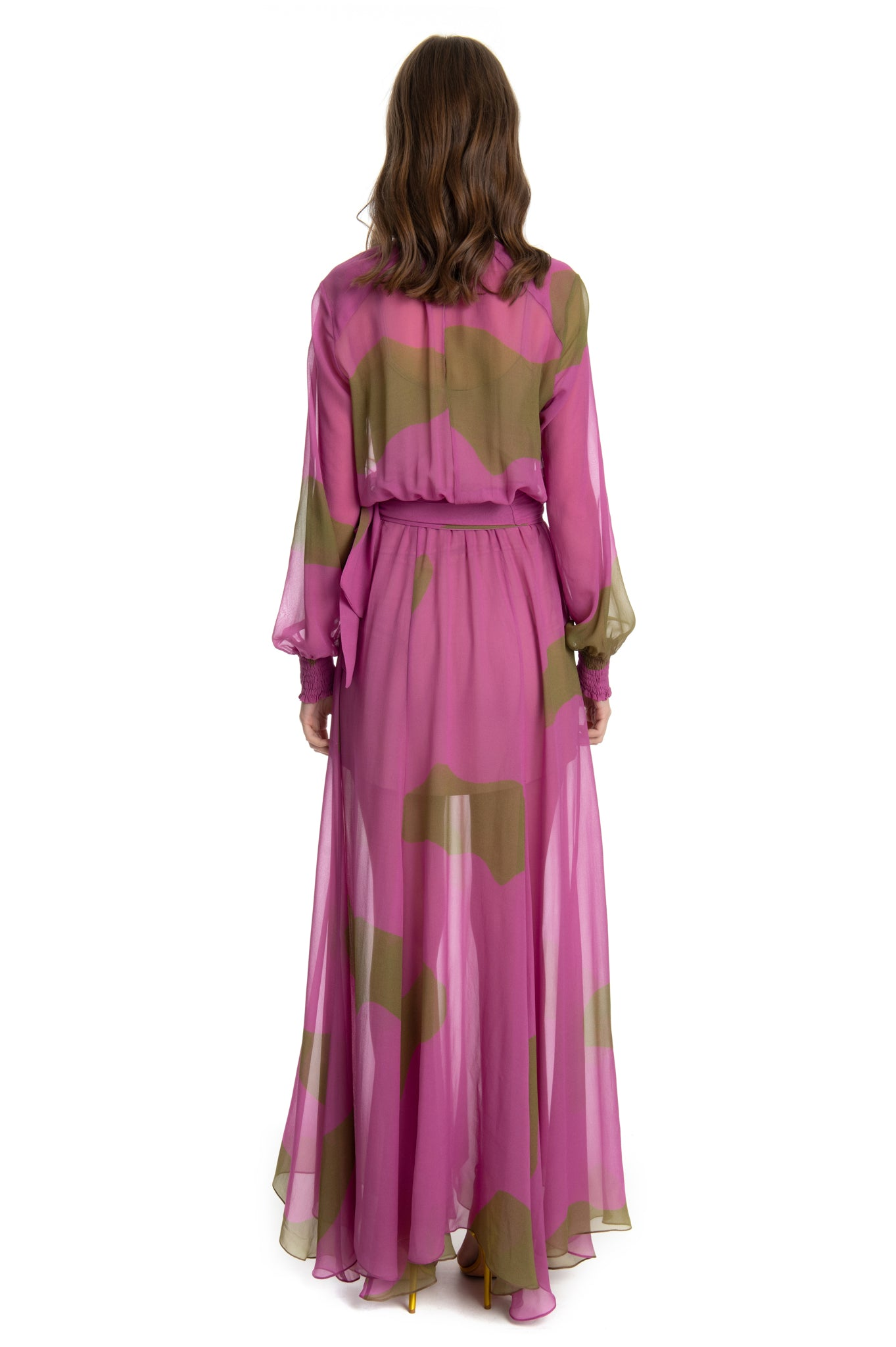 FUCHSIA DANIELA DRESS