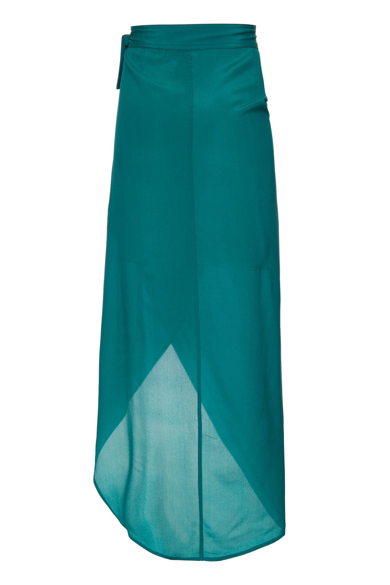 BLUE ENVELOPE SKIRT