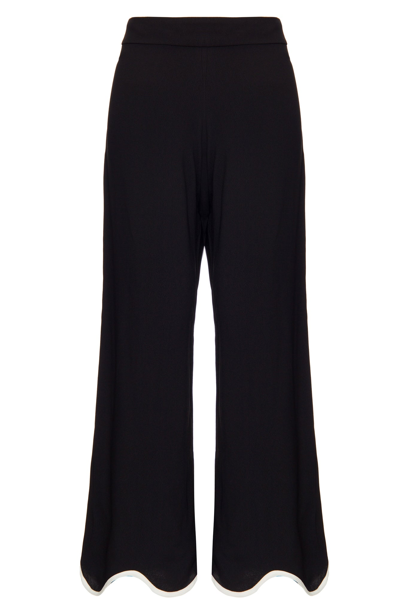 Black 70's Trousers