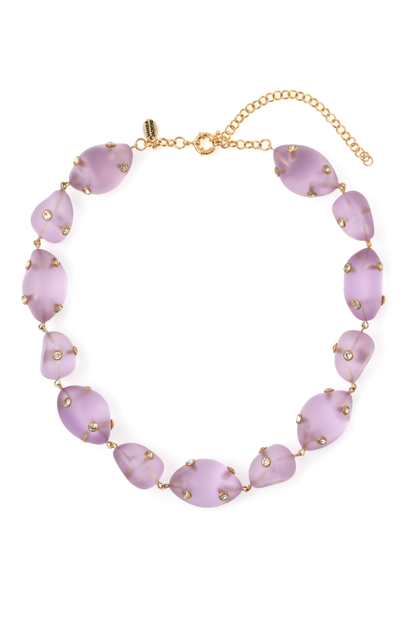 LILAC ARTSY NECKLACE