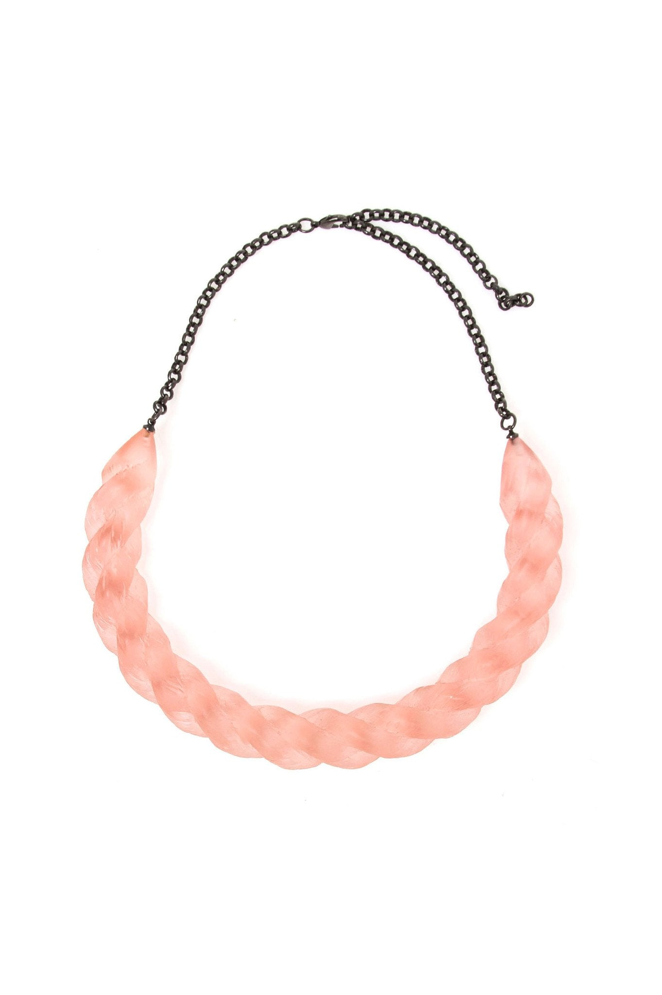 Rose Rope Resin Choker