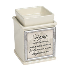Home Love Memories Ceramic Powder Sand Interchangeable Photo Frame Candle Wax Oil Warmer