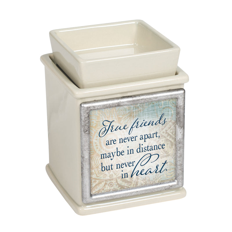 Friends Never Apart In Heart Powder Sand Interchangeable Photo Frame Candle Wax Oil Warmer