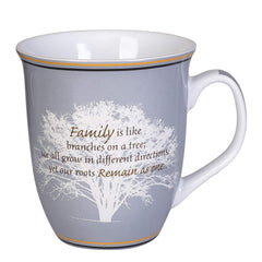 Family Like Branches On A Tree 16 Ounce Ceramic Stoneware Coffee Mug