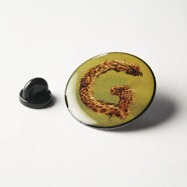 GREEN G LOGO PIN BADGE