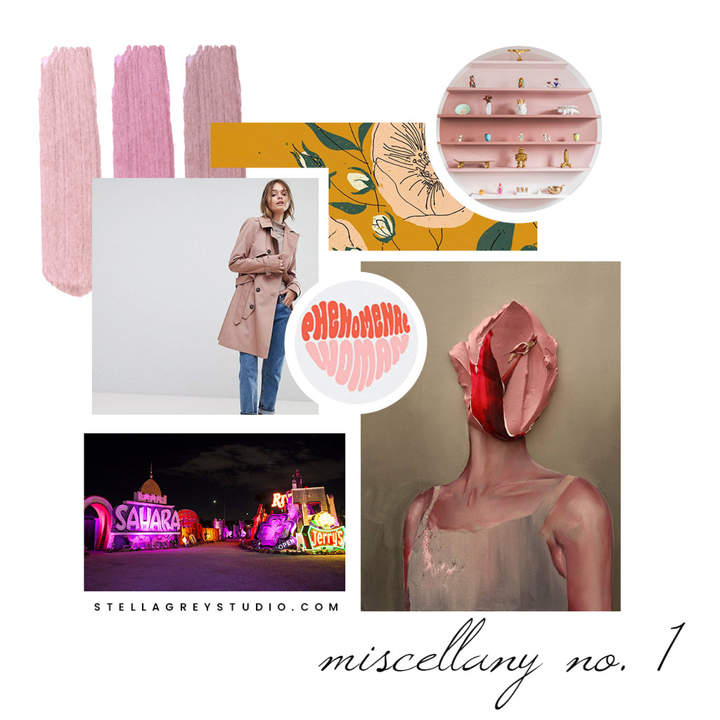 Crushes, Obsessions, & Miscellany | No. 1