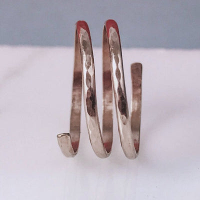 Spiral Ring | Rose Gold