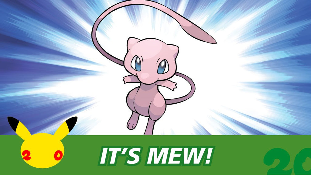 Mew Code Giveaway - Don't Miss Out On Your Chance To Own An Elusive Mythical Mew