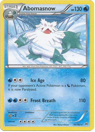 Abomasnow 40/162 XY BREAKthrough - The Pokemart - 1
