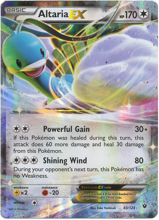 Altaria EX 83/124 XY Fates Collide, Holo - The Pokemart - 1