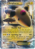 Ampharos EX 27/98 XY Ancient Origins, Holo - The Pokemart - 1