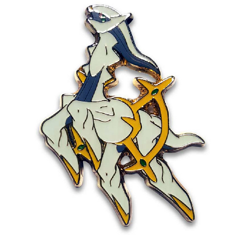 Arceus Pokemon Pin, Pokemon 20th Anniversary Promotional Pin - The Pokemart