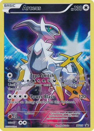 Arceus XY116 XY Black Star Promo Card, Full Art Holo - The Pokemart - 1