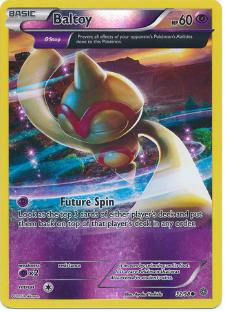 Baltoy 32/98 XY Ancient Origins, Reverse Holo - The Pokemart - 1