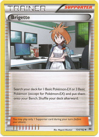 Brigette 134/162 XY BREAKthrough - The Pokemart - 1