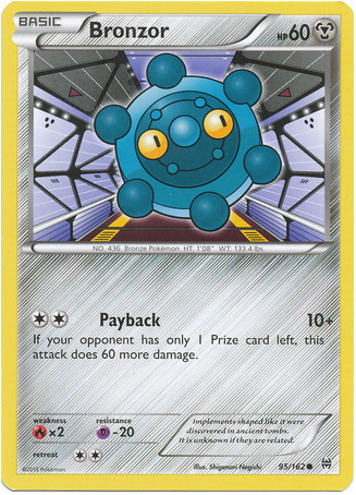 Bronzor 95/162 XY BREAKthrough - The Pokemart - 1