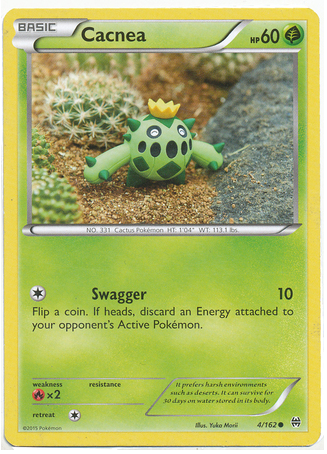 Cacnea 4/162 XY BREAKthrough - The Pokemart - 1