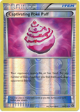 Captivating Poké Puff 99/114 XY Steam Siege, Reverse Holo - The Pokemart - 1