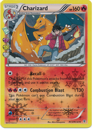 Charizard RC5/RC32 Generations Radiant Collection, Holo - The Pokemart - 1