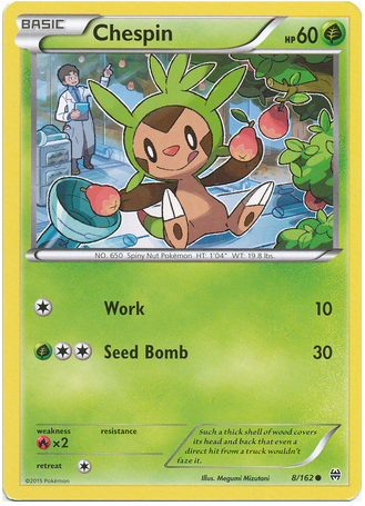 Chespin 8/162 XY BREAKthrough - The Pokemart - 1