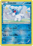 Cubchoo 21/111 XY Furious Fists, Reverse Holo - The Pokemart - 1
