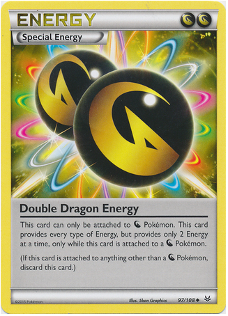 Double Dragon Energy 97/108 XY Roaring Skies - The Pokemart - 1