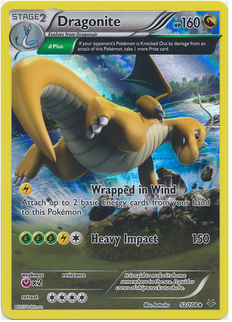 Dragonite 95/108 XY Roaring Skies, Holo - The Pokemart - 1
