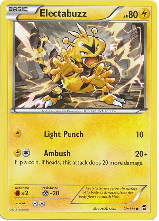 Electabuzz 29/111 XY Furious Fists - The Pokemart - 1