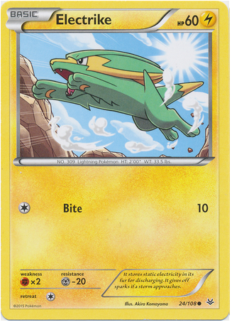 Electrike 24/108 XY Roaring Skies - The Pokemart - 1
