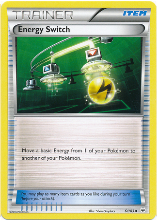 Energy Switch 61/83 Generations - The Pokemart - 1