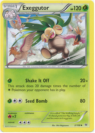 Exeggutor 2/108 XY Roaring Skies - The Pokemart - 1