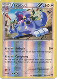 Exploud 82/124 XY Fates Collide, Reverse Holo - The Pokemart - 1