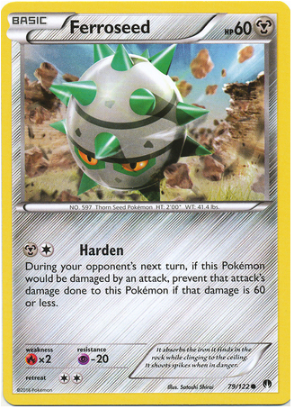 Ferroseed 79/122 XY BREAKpoint - The Pokemart - 1
