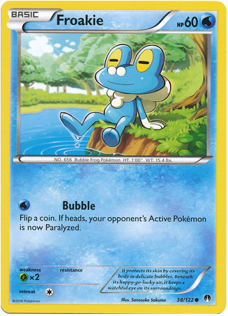 Froakie 38/122 XY BREAKpoint - The Pokemart - 1