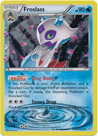 Froslass RC8/RC32 Generations Radiant Collection, Holo - The Pokemart - 1