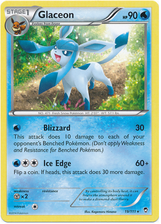 Glaceon 19/111 XY Furious Fists - The Pokemart - 1