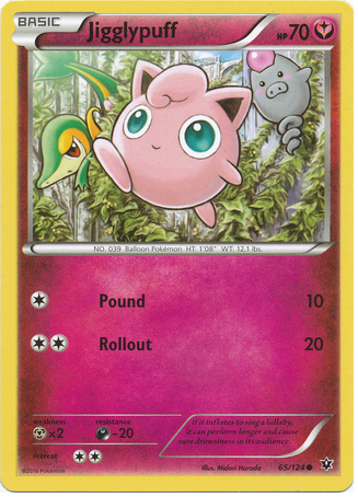 Jigglypuff 65/124 XY Fates Collide - The Pokemart - 1