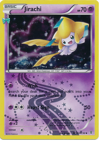 Jirachi RC13/RC32 Generations Radiant Collection, Holo - The Pokemart - 1