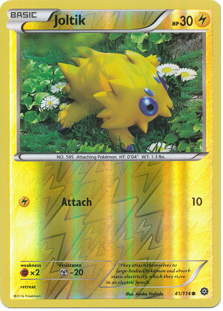 Joltik 41/114 XY Steam Siege, Reverse Holo - The Pokemart - 1