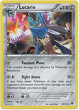 Lucario 63/124 XY Fates Collide, Holo - The Pokemart - 1