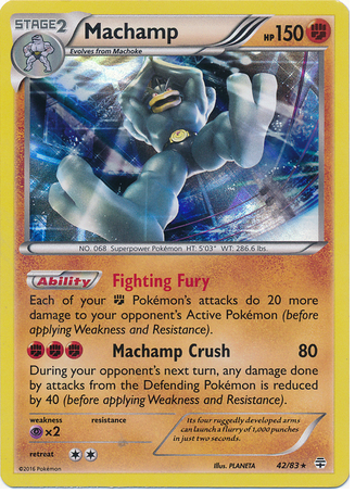 Machamp 42/83 Generations, Holo - The Pokemart - 1