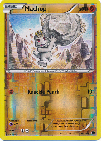Machop 40/83 Generations, Reverse Holo - The Pokemart - 1