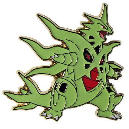 Mega Tyranitar Pin, Pokemon Collectors Pin - The Pokemart