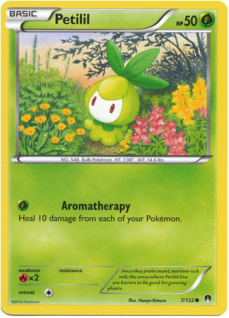Petilil 7/122 XY BREAKpoint - The Pokemart - 1