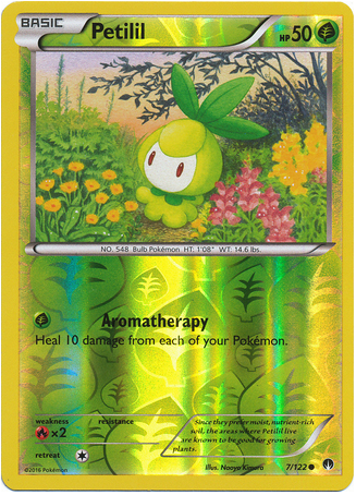 Petilil 7/122 XY BREAKpoint, Reverse Holo - The Pokemart - 1