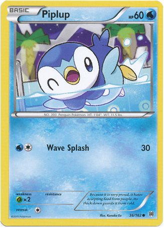 Piplup 36/162 XY BREAKthrough - The Pokemart - 1