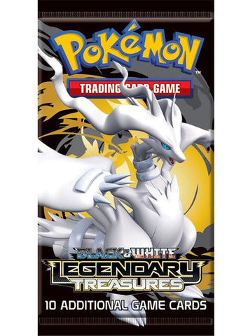 Pokemon Black & White — Legendary Treasures Booster Pack - The Pokemart